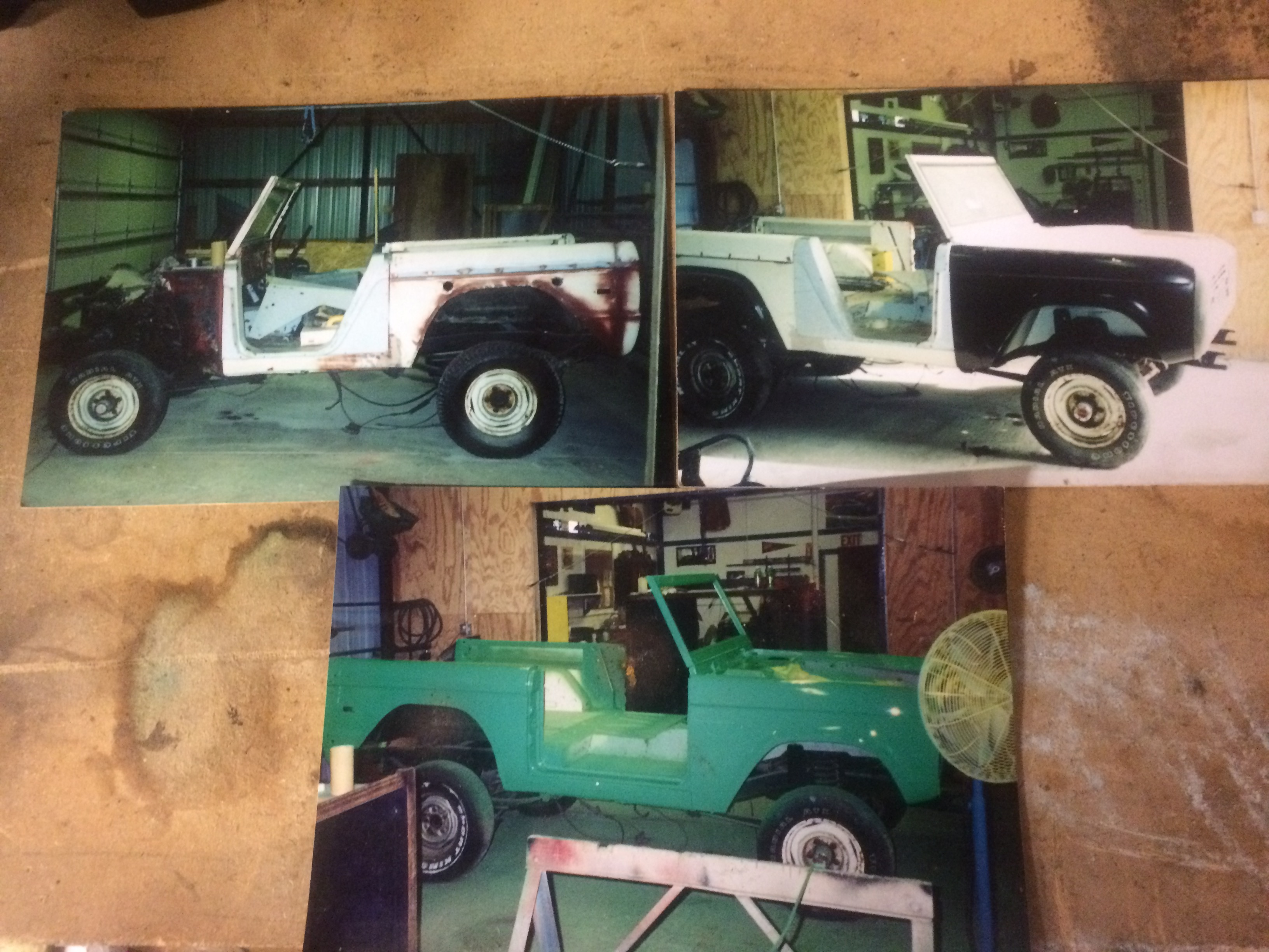 1976 Ford Bronco Restoration Project