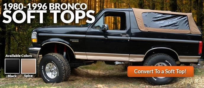 1980-1996 Bronco Softops