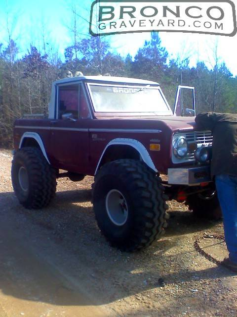 F on 1980 Ford Bronco