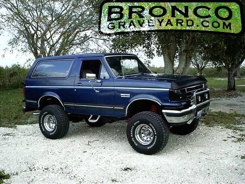 88 Bronco Ii 93 Explorer Short And Powerfull