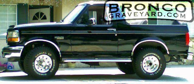 New Ford Bronco >> Bronco Graveyard Registry
