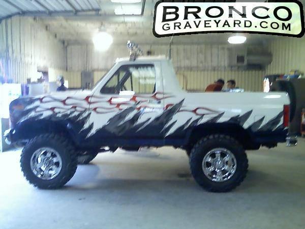 Custom Bronco For Sale Custom 1986 Ford Bronco