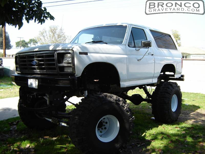 Ford Super Duty >> Bronco Graveyard Registry
