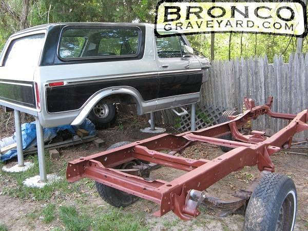 1979 ford bronco frame and drivetrain craigslist