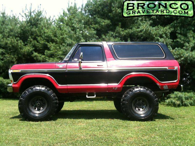 Lifted 1979 Ford Bronco >> Bronco Graveyard Registry