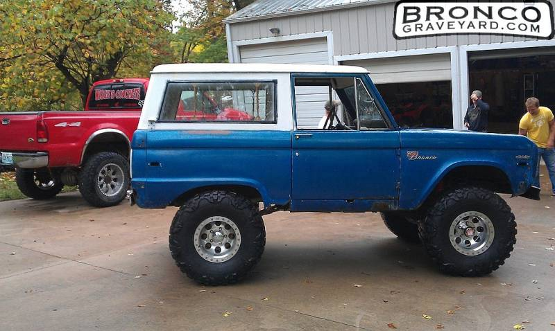 F on Bronco Ii Fender Flares