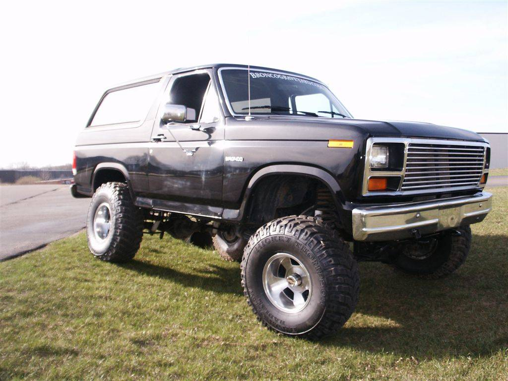 Photo Gallery Toms Bronco A 1985 Fullsize 1980 Ford Front Axle Superflexwitharms