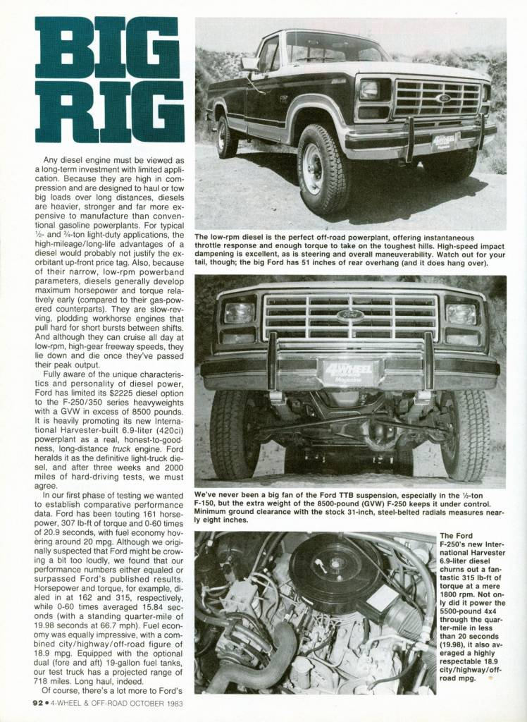 Photo Gallery - 80-96 Truck Articles