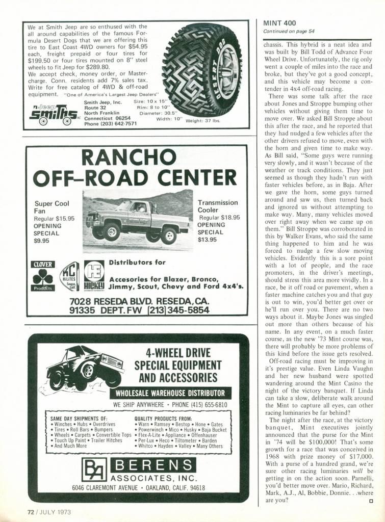 Photo Gallery - 66-77 Bronco Articles - Art 0006