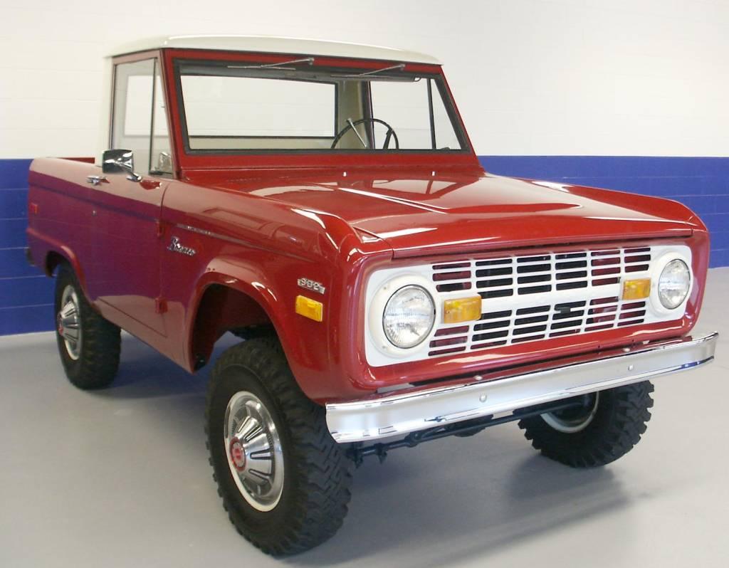 Photo Gallery Jeffs 70 Half Cab 1970 Ford Bronco Full Size Prev