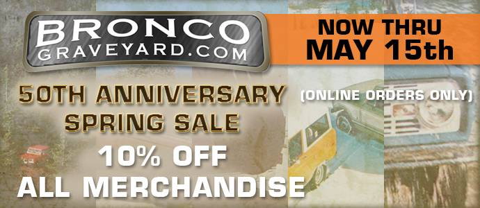50th Anniversary Spring Sale