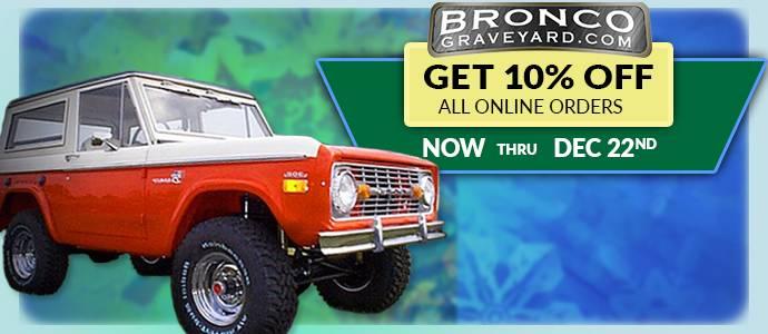 10% off Online Orders