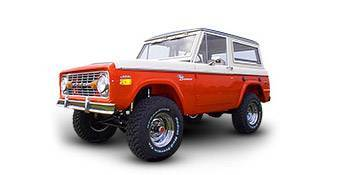 1966 to 1977 Early Ford Bronco Parts