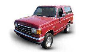 1980 to 1996 Ford Bronco Parts