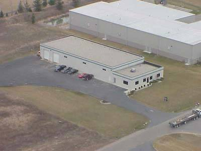Overhead view of our facility before the expansion.