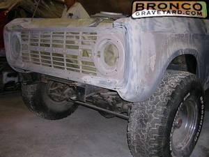 Trey's 1973 Bronco