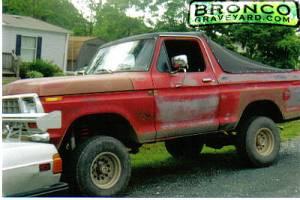 My Beautiful Bronco.