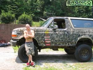 Camo Bronco