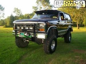 1984 Bronco XLT 4x4