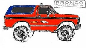 Future Bronco Paint Design