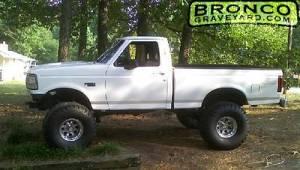 1994 white ford