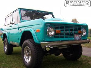 lifted bronco