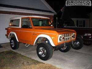 1975 bronco pre restoration
