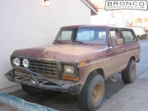 1978 bronco custom 6.6ltr