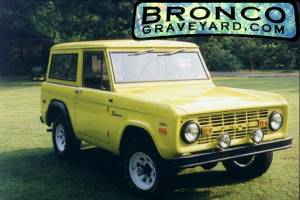 Jims 1971 bronco