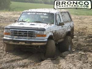 Broncos love the mud!!!!!!!!!!