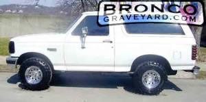 My 96 bronco