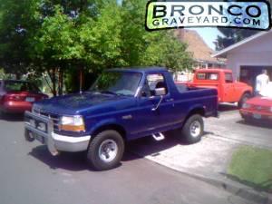 1996 ford bronco xl 351