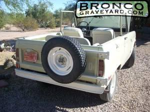Bronco rear 3/4