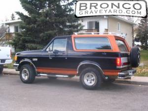 Copper top bronco