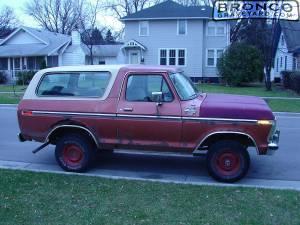 My '79 bronco