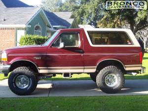 6 in lift and 35 in tires