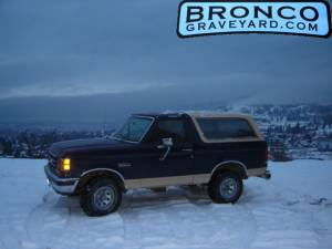 When i first got my bronco.