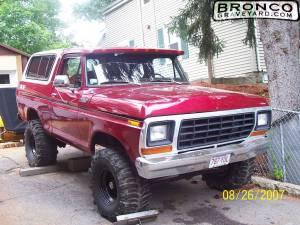 """78 bronco 4x4 6""""lift"""