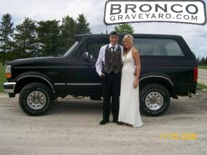 the new bronco at prom