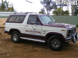 Brickie's truck