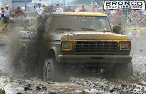Gettin it done in the mud