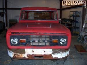 1977 bronco reuild