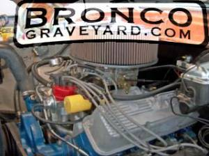 78 bronco engine