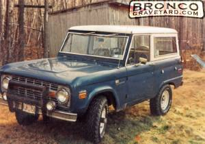 Hunting with my bronco