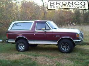 Daves 89 bronco