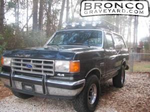 87 ford bronco xlt 4x4