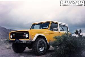 '72 bronco
