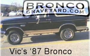 Vic's 87 bronco