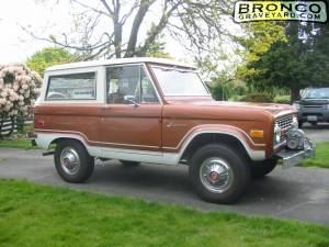 1974 Ford Bronco w/ Ranger pkg