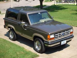 1989 bronco ii eb